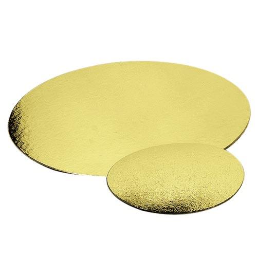 Alles voor taarten taartkarton goud 21 5 cm per stuk for Eetbaar goud